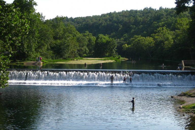 Bennett Spring Dam